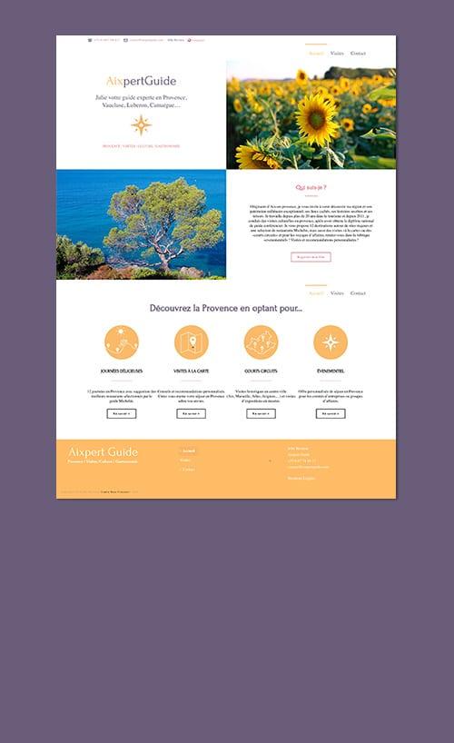 site-web-agence-web-aixpert guide-aix en provence graphiste
