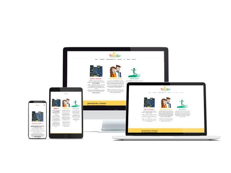 le passage_site-web-one page-agence web marseille aix en provence