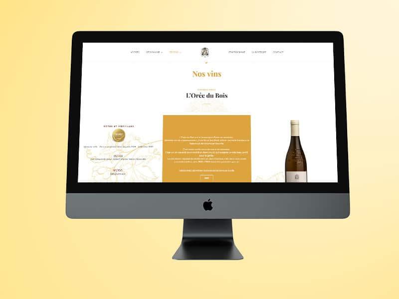 site multi langue webdesign