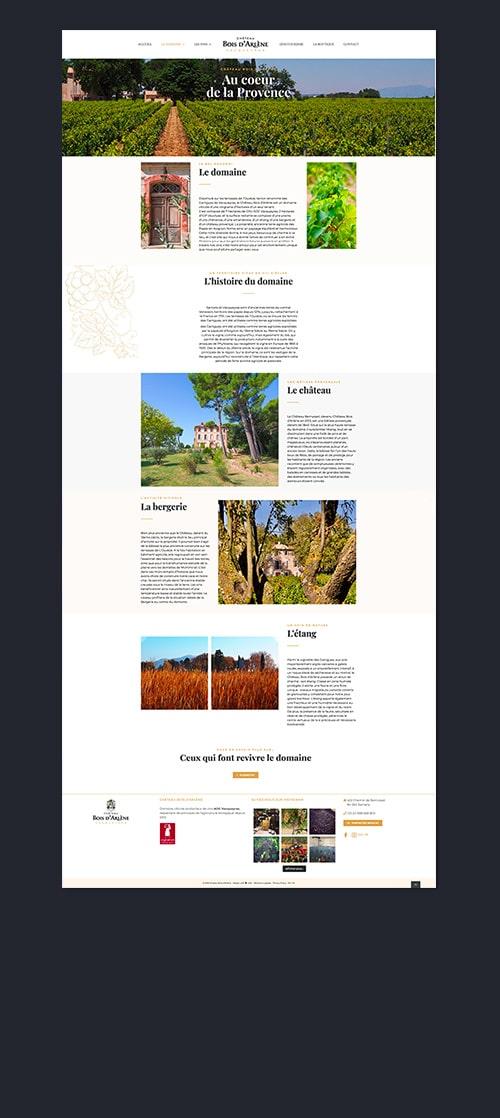 site-web-marseille-agence-webdesign-chateau-bois-d'arlène-paris-AGENCE WEB