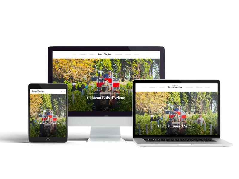 site-web-marseille-agence-webdesign-chateau-bois-d'arlène-paris