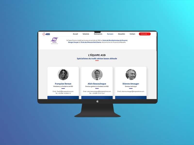 asd site web agence marseille