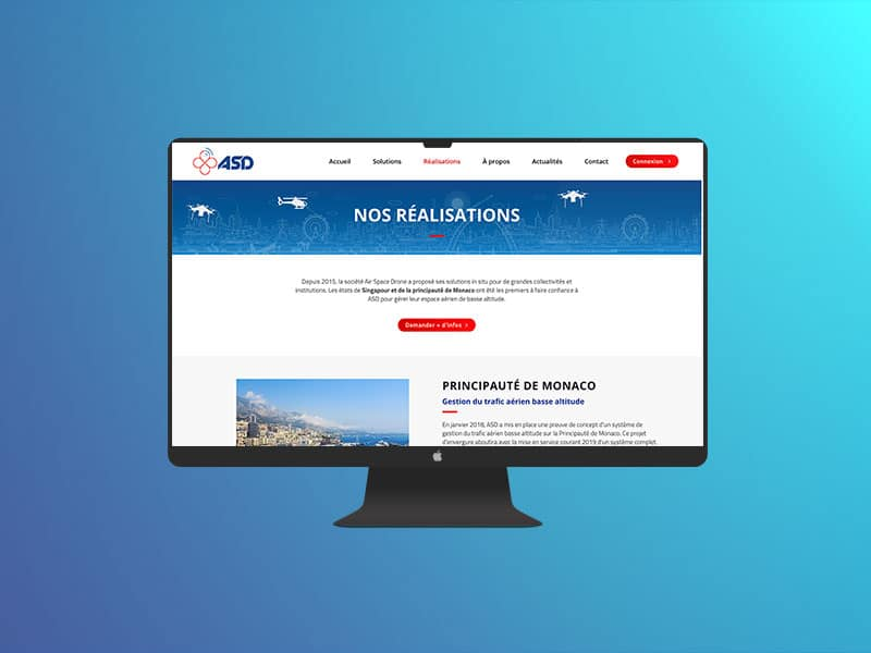 asd site web creation marseille