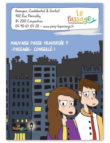 illustration flyer