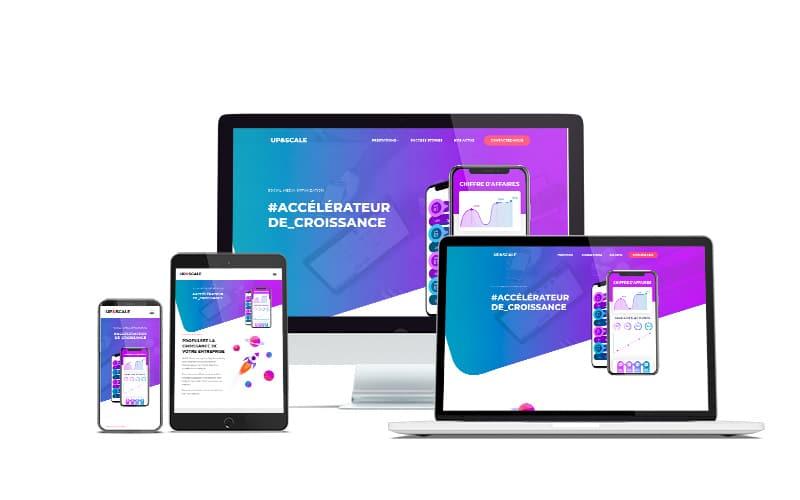 upandscale site web logo