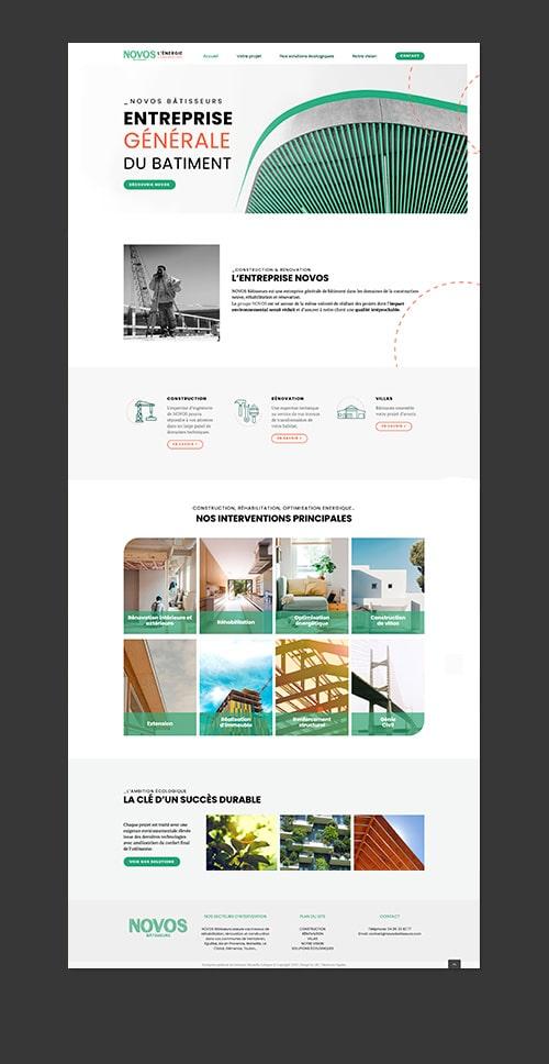 creation de site web pour artisans