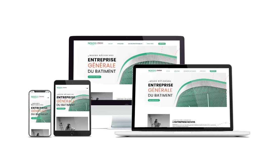 créer site web artisan batiment marseille